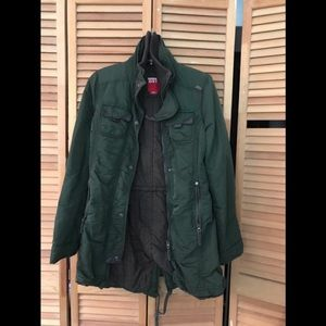 Miss sixty military green coat